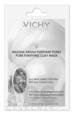 VICHY MASQUE Čistiaca ílová maska BOX