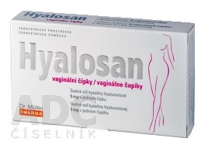 Dr. Müller HYALOSAN vaginálne čapíky
