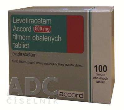 Levetiracetam Accord 500 mg