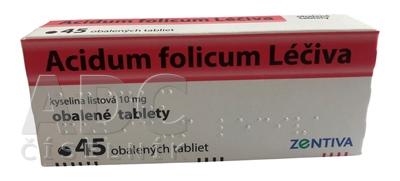 Acidum folicum Léčiva
