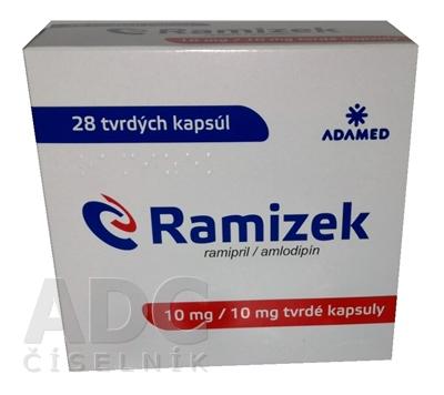 Ramizek 10 mg/10 mg tvrdé kapsuly