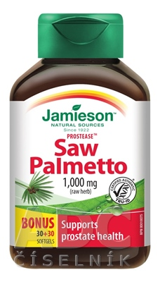 JAMIESON PROSTEASE SAW PALMETTO 125 mg