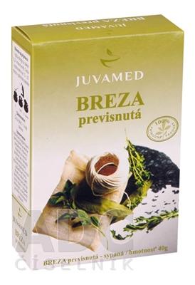 JUVAMED BREZA PREVISNUTÁ - LIST