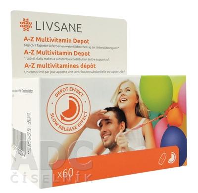 LIVSANE A-Z Multivitamín komplex