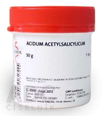 Acidum acetylsalicylicum - FAGRON
