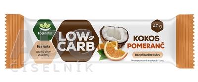 topnatur Tyčinka LOW CARB Kokos Pomaranč