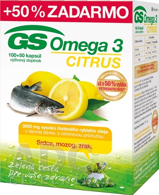 GS Omega 3 CITRUS 2015