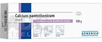 GENERICA Calcium pantothenicum masť