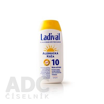 Ladival ALLERG SPF 10 gél