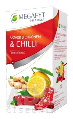 MEGAFYT ZÁZVOR s citrónom & chilli