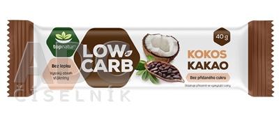 topnatur Tyčinka LOW CARB Kokos Kakao