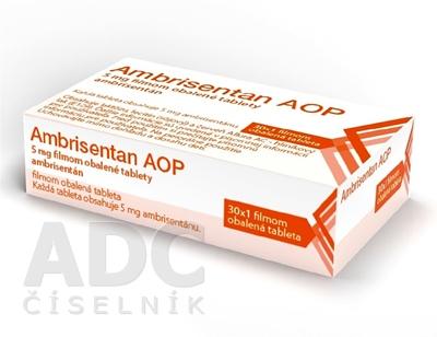 Ambrisentan AOP 5 mg filmom obalené tablety