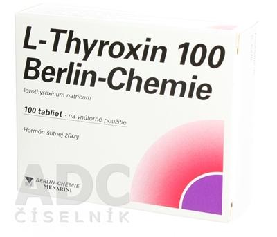 L-Thyroxin 100 Berlin-Chemie