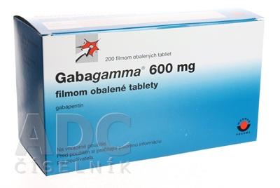 Gabagamma 600 filmom obalené tablety