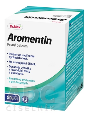 Dr.Max Aromentin prsný balzam
