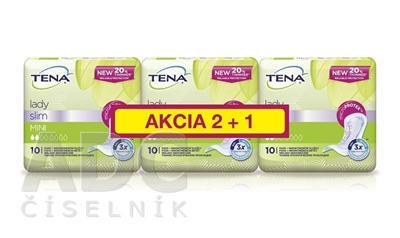 TENA Lady Slim MINI NEW AKCIA 2+1