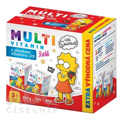 Revital MULTIVITAMÍN The Simpsons