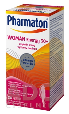 Pharmaton WOMAN Energy 30+