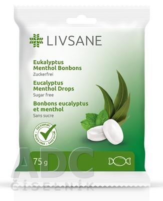 LIVSANE Bylinné pastilky mentol, eukalyptus