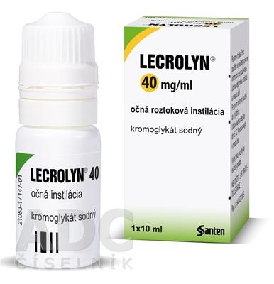 LECROLYN 40 mg/ml očná roztoková instilácia