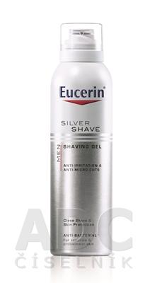 Eucerin MEN SILVER SHAVE gél na holenie pre mužov