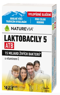 "SWISS NATUREVIA LAKTOBACILY ""5"" ATB/Imunita"