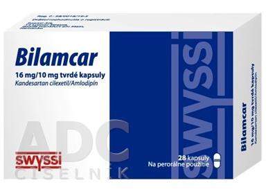 Bilamcar 16 mg/10 mg tvrdé kapsuly