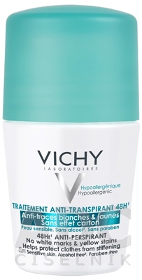 VICHY DEO ANTI-TRACES 48H Roll-on