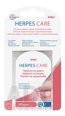 Dr.Max HERPES CARE Náplasť na herpes