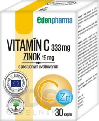 EDENPharma VITAMÍN C + ZINOK