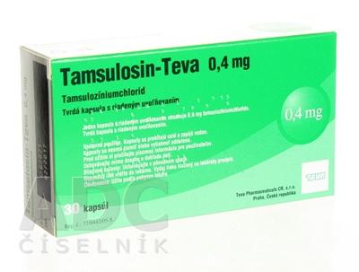 Tamsulosin-Teva 0,4 mg