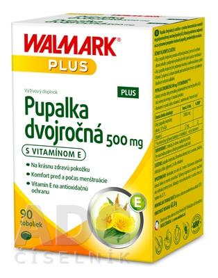 WALMARK Pupalka dvojročná 500 mg s vitamínom E