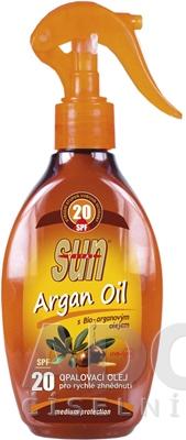 SUN ARGAN OIL opaľovací OLEJ SPF 20