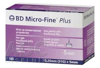 BD MICRO FINE PLUS inzulínové ihly