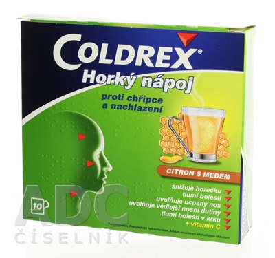 Coldrex Horúci nápoj Citrón s medom