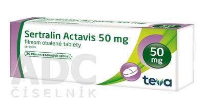 Sertralin Actavis 50 mg