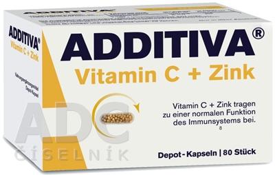 ADDITIVA Vitamín C+ Zinok