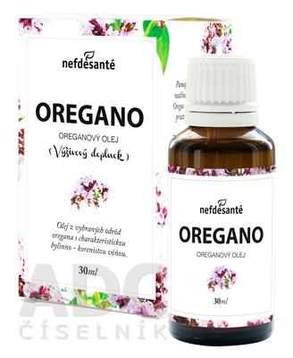 nefdesanté OREGANO Oreganový olej