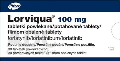 Lorviqua 100 mg filmom obalené tablety