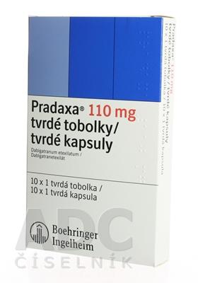 Pradaxa 110 mg tvrdé kapsuly