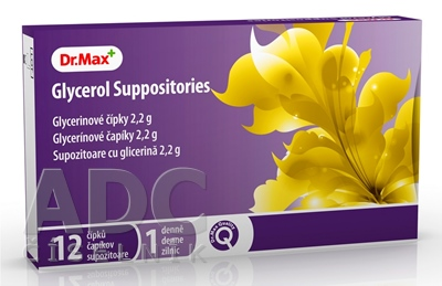 Dr.Max Glycerol Suppositories (inov.2019)