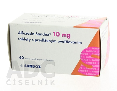 Alfuzosin Sandoz 10 mg