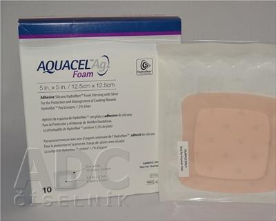 AQUACEL Ag foam Hydrofiber krytie na rany
