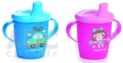 Canpol Babies Netečúci hrnček Toys 250 ml