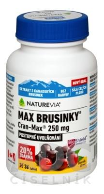 SWISS NATUREVIA MAX BRUSNICE Cran-Max 250 mg