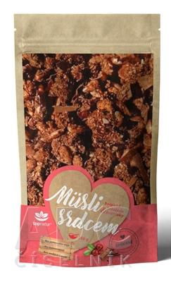 topnatur Müsli srdcom Belgická čokoláda & brusnice