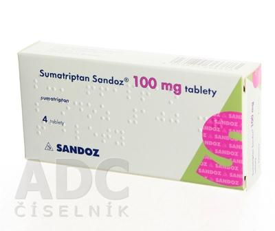 Sumatriptan Sandoz 100 mg tablety