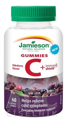 JAMIESON VITAMÍN C + IMMUNE SHIELD GUMMIES