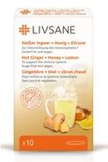 LIVSANE Horúci zázvor + med + citrón