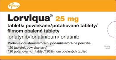 Lorviqua 25 mg filmom obalené tablety